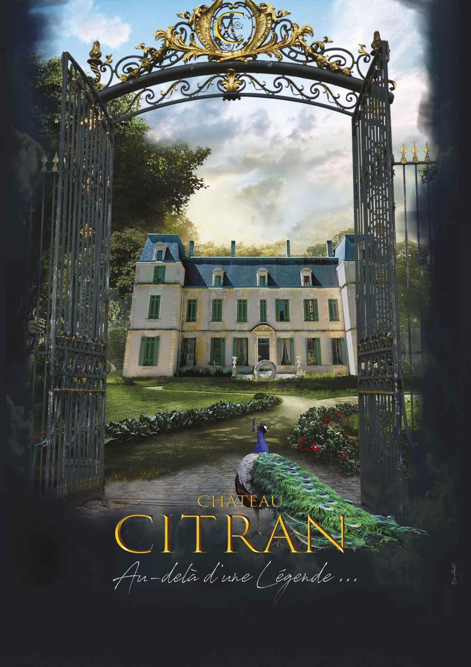 Ouverture Alice au pays des Paons Château Citran
